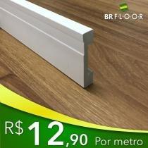 Rodapé Poliestireno 7cm (BR70) Barra com 2,25m - Br floor
