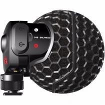 Rode Stereo Videomic X Microfone para Câmeras - Bateria De 9v -