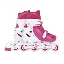 Roller Infantil 31-34 Rosa 40600121 - Mor - Mor