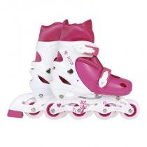 Roller Infantil 35-38 Rosa 40600123 - Mor - Mor