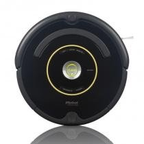 Roomba 650 - Robô Aspirador iRobot - Limpeza Programável  Parede Virtual - Bivolt -