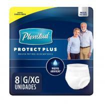 Roupa intima plenitud protect plus c/8 g/xg - Plenitud