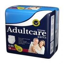 Roupa Íntima Unissex Adultcare Pants G/EG 16 Unidades - ADULTCARE