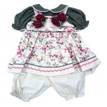 Roupa Laura Doll (Flower) - Adora doll