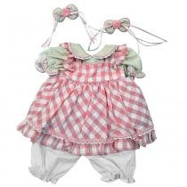 Roupa Laura Doll (Rosinha) - Adora doll