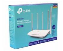 Router wireless tp-link ac1350 archer c60 dual band - 5 antenas versão 2.0 -