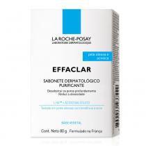 Sabonete de limpeza facial la roche-posay effaclar purificante 80g - La roche-posay