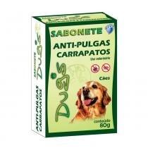 Sabonete dugs antipulgas e carrapatos 80g - World veterinária