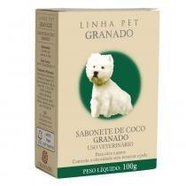 Sabonete Granado Coco para Cães e Gatos - 90 g -