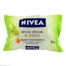 Sabonete Hidratante Erva Doce e Óleos 90g - Nivea - Nivea