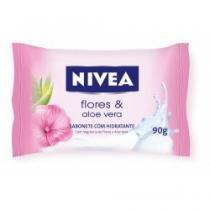 Sabonete nivea aloe vera e flores 90g - Nivea