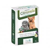 Sabonete Pet Clean Citronela - 80 g -