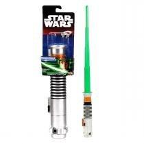 Sabre De Luz Star Wars VII Luke Skywalker Verde - B2912 - Hasbro -