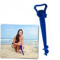 Saca Areia Com Suporte Para Guarda Sol Mor 003694 -