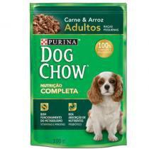 Sachê Dog Chow Raças Pequenas Carne e Arroz 100g - Purina