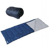 Saco de dormir com extenção para travesseiro azul Mor -