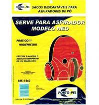 Saco Para Aspirador de Pó Modelo Neo Ref: 1262 - Porto-pel
