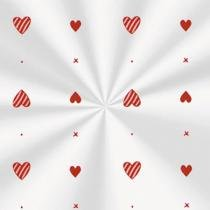 Sacos Plásticos Transparentes Pureza Vermelho 100 unidades - 10X14 - festabox