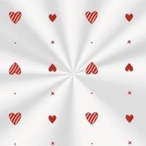 Sacos Plásticos Transparentes Pureza Vermelho 100 unidades - 15X22 - festabox