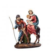 Sagrada Família 29.5cm Nossa Senhora do Desterro Santini Christmas -