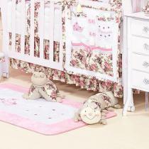 Saia de Berço Princess  Batistela Baby -