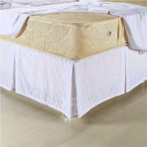 Saia P/ Cama Box Casal Padrão C/ Lese 01 Peça - Branco - Vilela Enxovais