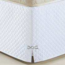 Saia Para Cama Box King Size Veneza Branco - A criativa