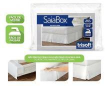 Saia Para Cama Box Queen Microfibra 100 Poliéster - Trisoft