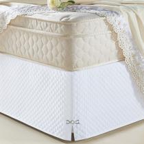Saia Para Cama Box Queen Size Veneza Branco - A decorativa