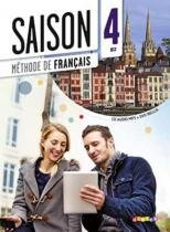 Saison 4 livre eleve + cd audio + dvd (b2) - Didier/ hatier