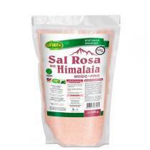Sal rosa do himalaia fino 500gr unilife -