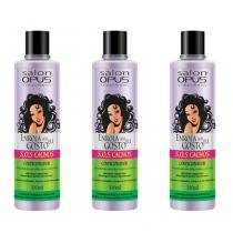 Salon Opus Sos Cachos Enrolados Condicionador 300ml (Kit C/03) - Salon line