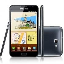 "Samsung Galaxy Note N7000, com Tela de 5.3"", Rede Wireless Compatível -"