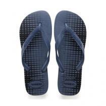 Sandália havaianas top basic azul índigo 37/8 -