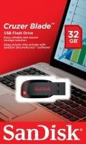 SanDisk Cruzer Blade 32 GB Drive flash - USB 2.0 -