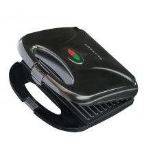 Sanduicheira e grill antiaderente 750 watts preta - SA01 (110V) - Agratto