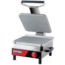 Sanduicheira Elétrica Simples Inox 2500W - Croydon Quente Elétrica SASE-2