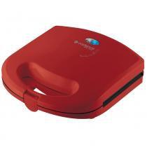 Sanduicheira Minigrill Cadence Colors Vermelha -