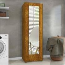 Sapateira Com Espelho 1 Porta 4 Prateleiras Atena Mavaular - MavauLar Móveis