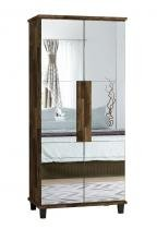 Sapateira com Espelho Requinte Amadeirado - RV Móveis - RV Móveis