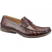 7bd7451ee4 Sapato masculino loafer sandro moscoloni miami beach marrom brown -