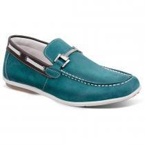 a70c472048 Sapato masculino mocassim sandro moscoloni copacabana verde água cyan -  Sandro republic
