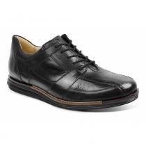 Sapato Social Masculino Conforto Sandro Moscoloni Looper Preto -