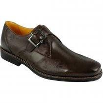 a3f4acc47 Sapato social masculino monk strap sandro moscoloni morris marrom brown  troy -