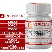 Saw Palmetto + Licopene 60 Cápsulas - Oficialfarma