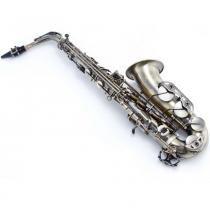 Sax Alto em Mi Bemol, Vintage, Antique Old, WSA OL - WALDMAN -