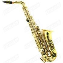Saxofone Alto Metal Lacquer Com Case Jyas1102 Harmony - Harmony