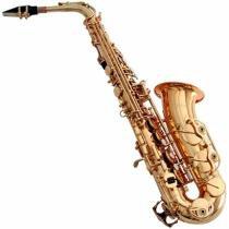 Saxofone Mi Bemol Laqueado Gold Wsagd Waldman -