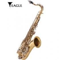 Saxofone tenor bb st503-ln laqueado eagle -