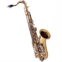 Saxofone Tenor Em Sib Laqueado Chaves Niqueladas St503 Ln Eagle - Eagle